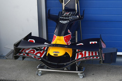 L'aileron avant Red Bull Racing