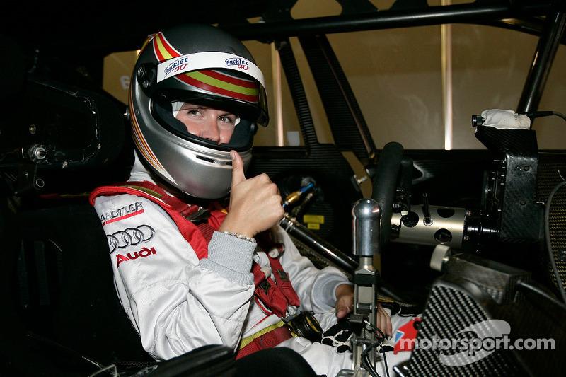 Maria de Villota prueba de Audi A4 DTM
