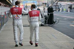Martin Tomczyk, Audi Sport Team Abt Sportsline, Audi A4 DTM and Timo Scheider, Audi Sport Team Abt,