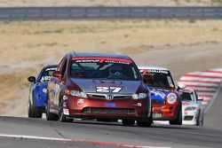 #27 Bill Fenton Motorsports Honda Civic SI: Bill Fenton, David Thilenius