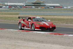 #55 LevelFive Motorsports Ferrari 430 Challenge: Christophe Bouchut, Scott Tucker, Ed Zabinski Liddell