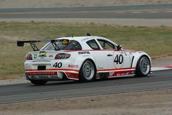 #40 Hyper Sport Mazda RX-8: Patrick Dempsey, Joe Foster
