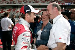 Timo Scheider and Dr. Wolfgang Ullrich
