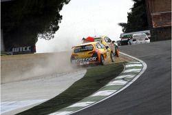 Tom Coronel, Sun Red SEAT Team, SEAT Leon FSI va contro a Tiago Monteiro