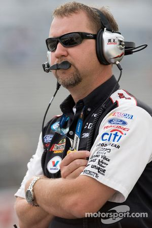 Mike Kelley, crew chief for the #6 Discount Tire Ford