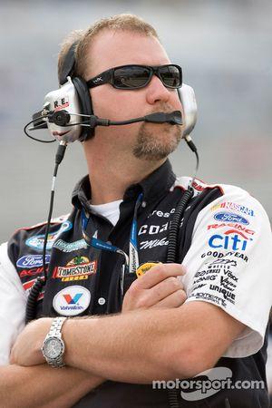 Mike Kelley, capitaine d'équipe de la #6 Discount Tire Ford