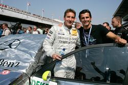 Bernd Schneider and Pedro de la Rosa