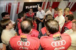Meeting de l'équipe Audi Sport Team Rosberg