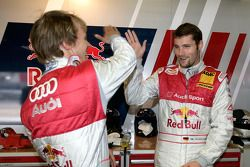 Mattias Ekström, Audi Sport Team Abt Sportsline and Martin Tomczyk, Audi Sport Team Abt Sportsline,