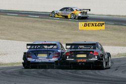Maro Engel, Mücke Motorsport AMG Mercedes, AMG Mercedes C-Klasse et Markus Winkelhock, Audi Sport Te