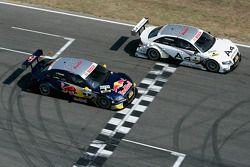 Tom Kristensen, Audi Sport Team Abt, Audi A4 DTM et Martin Tomczyk, Audi Sport Team Abt Sportsline, Audi A4 DTM