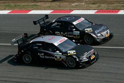 Timo Scheider, Audi Sport Team Abt, Audi A4 DTM and Paul di Resta, Team HWA AMG Mercedes, AMG Mercedes C-Klasse