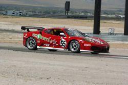 #55 LevelFive Motorsports Ferrari 430 Challenge: Christophe Bouchut, Scott Tucker, Ed Zabinski