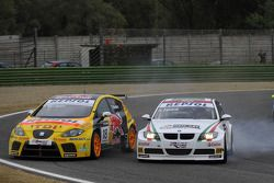 Tiago Monteiro e Alex Zanardi, BMW Team Italy-Spain, BMW 320si