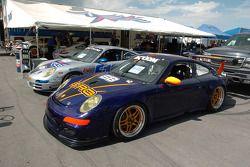 Porsche used car lot