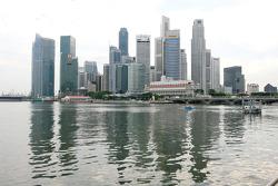 Singapore City atmosphere