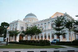 El edificio del Museo de Singapur