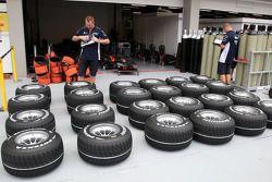 Pneus Bridgestone WilliamsF1 Team