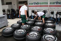 Pneus Bridgestone, Honda Racing F1 Team