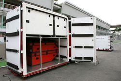 Caisse de transport Toyota