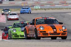 #38 BGB Motorsports Porsche 997: Max Hyatt, James Sofronas, Tim Traver