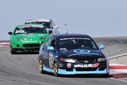 #75 Compass360 Racing Acura TSX: Ken Wilden, Jeremy Willard