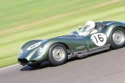 Sussex Trophy: le vainqueur, Jamie McIntyre, Lister-Chevrolet Knobbly 1959