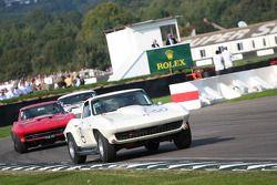 Tourist Trophy : Roddie Felden/Stefan Johansson-Chevrolet Corvette Sting Ray
