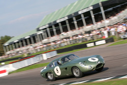 Tourist Trophy race: Aston Martin Project 214 1963