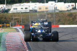 #32 Florent Moulin (F) Ecurie Florent Moulin, F1 Benetton B188 Cosworth 3.5 V8, et #8 Chris Woodhouse (GB) Woodhouse Bros., F1 Lola T90/50 Cosworth 3.5 V8