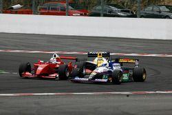 #25 Karl-Heinz Becker (D) Becker Motorsport, WS Dallara Nissan 3.4 V6, #8 Chris Woodhouse (GB) Woodh