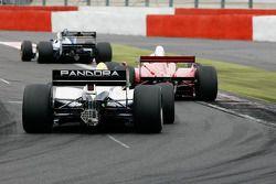 #8 Chris Woodhouse (GB) Woodhouse Bros., F1 Lola T90/50 Cosworth 3.5 V8, #25 Karl-Heinz Becker (D) B