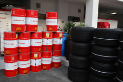 F1 Fuel and Tyres