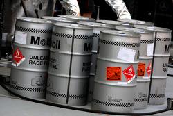 McLaren Mercedes, Rennbenzin