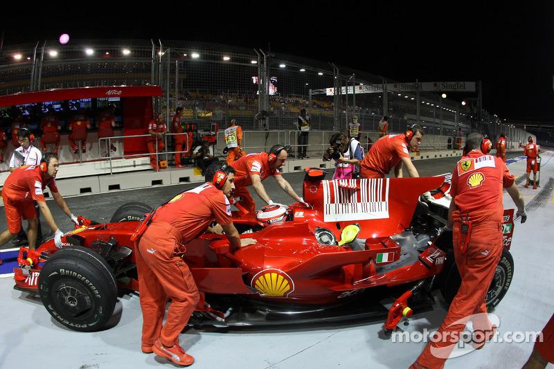 Kimi Räikkönen, Scuderia Ferrari, F2008