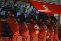 Le poste Scuderia Ferrari