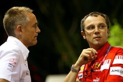 Martin Whitmarsh, McLaren et Stefano Domenicali, Scuderia Ferrari