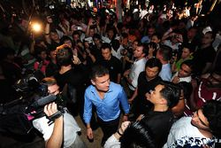 Red Bull Party à Sentosa Island: David Coulthard