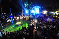 Red Bull Party à Sentosa Island: les invités