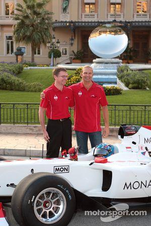 A1 Team Monaco launch, Monte Carlo, Monaco: Clivio Piccione
