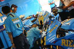 Crescent Suzuki team members at work