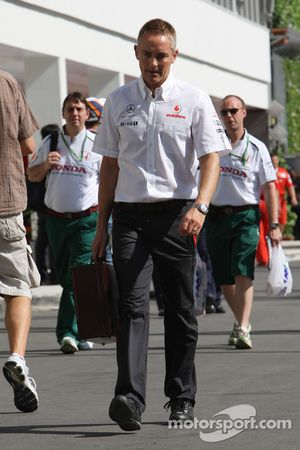 Martin Whitmarsh, McLaren, Teamchef