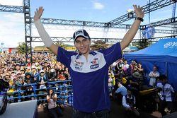 Jorge Lorenzo makes a public appearance