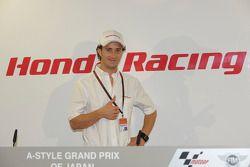 Andrea Dovizioso in a press conference
