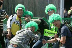 Kawasaki fans