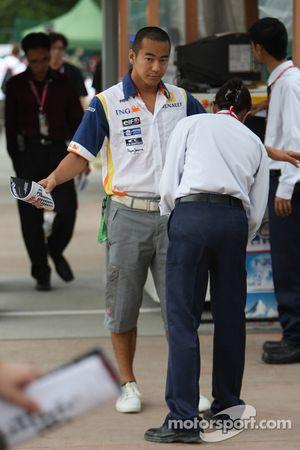 Sakon Yamamoto, Renault F1 Team piloto de prueba