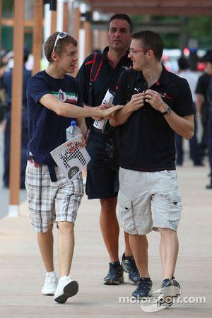 Sebastian Vettel, Scuderia Toro Rosso y Sébastien Bourdais, Scuderia Toro Rosso