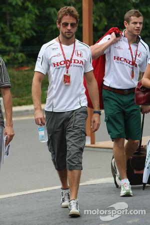 Jenson Button, Honda Racing F1 Team