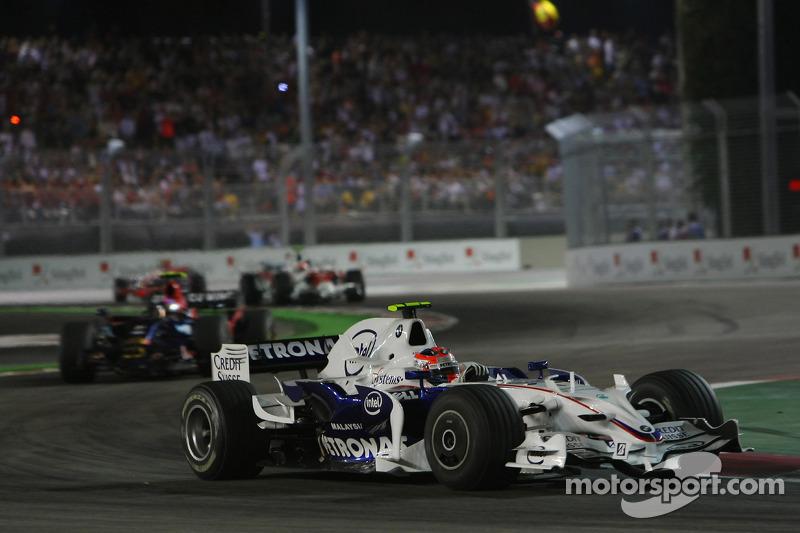Robert Kubica, BMW Sauber F1 Team, GP Singapuru 2008