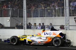 Нельсон Пике, Renault F1 Team
